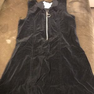 Girls small velour dress
